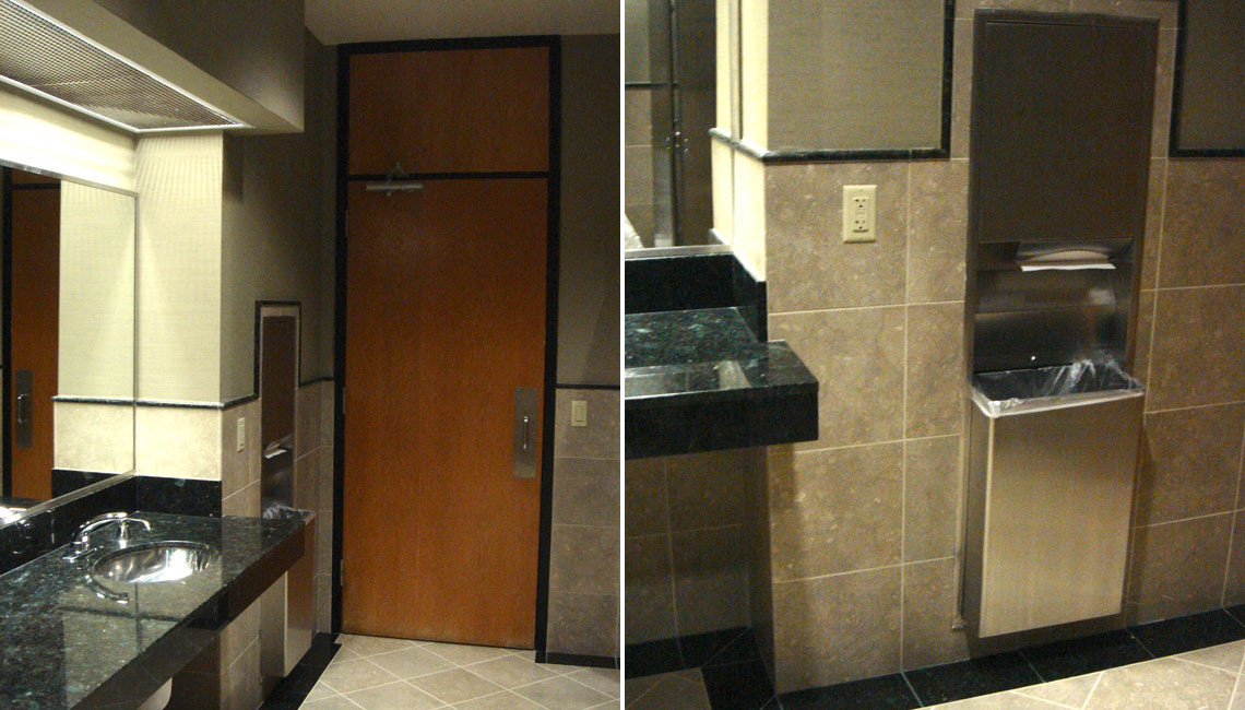 High Rise Executive Bath Remodel